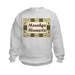 Menahga Loon Kids Sweatshirt