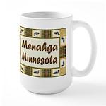 Menahga Loon Large Mug