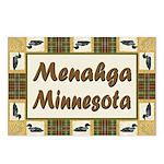 Menahga Loon Postcards (Package of 8)