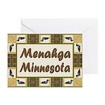Menahga Loon Greeting Cards (Pk of 10)