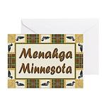 Menahga Loon Greeting Cards (Pk of 20)
