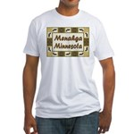 Menahga Loon Fitted T-Shirt
