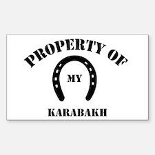 My Karabakh Rectangle Decal