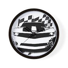 Drag Racing Wall Clock