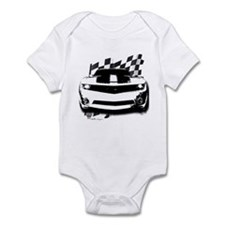 Drag Racing Infant Bodysuit