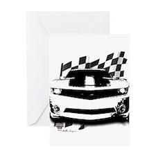 Drag Racing Greeting Card