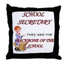 Unique Secretary day Throw Pillow