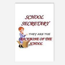 Cool I love secretary Postcards (Package of 8)