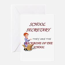 Cute School secretaries Greeting Card