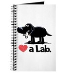 Love a Lab (Black) - Journal