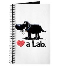 Love a Lab (Black) - Journal