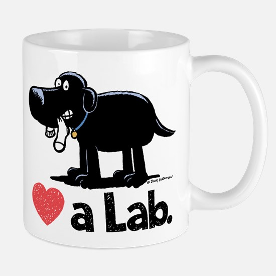 Love a Lab (Black) - Mug