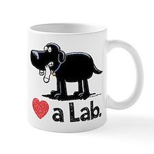 Love a Lab (Black) - Mug