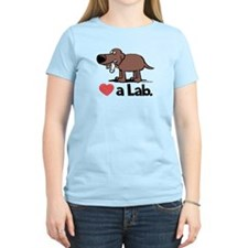 Love a Lab (Chocolate) - T-Shirt