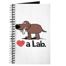 Love a Lab (Chocolate) - Journal