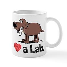 Love a Lab (Chocolate) - Mug