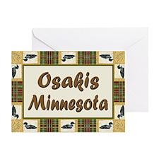 Osakis Loon Greeting Card