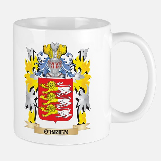 O'Brien Family Crest - Coat of Arms Mugs