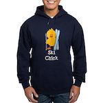Ski Chick Hoodie (dark)