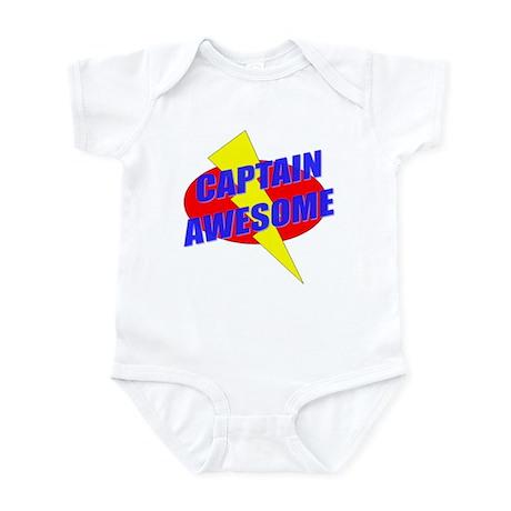 Captain Awesome Infant Bodysuit