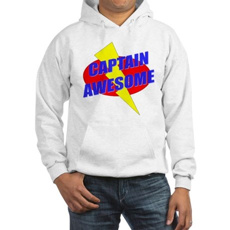 Captain Awesome Hooded Sweatshirt