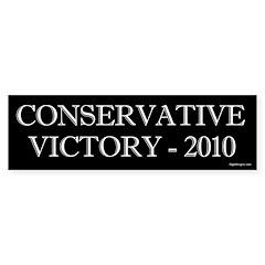Conservative Victory 2010 Bumper Bumper Sticker
