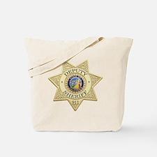 California Deputy Sheriff Tote Bag