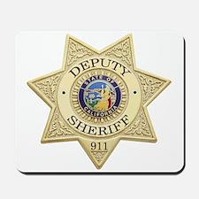 California Deputy Sheriff Mousepad