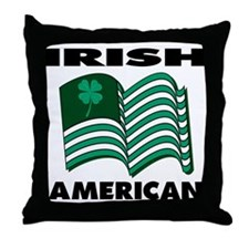 Irish American Throw Pillow