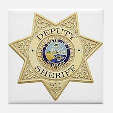 Florida Deputy Sheriff Tile Coaster