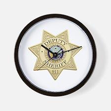 Florida Deputy Sheriff Wall Clock