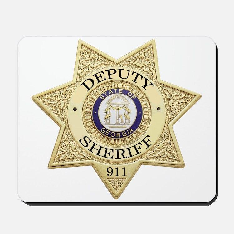Georgia Deputy Sheriff Mousepad