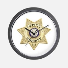 Georgia Deputy Sheriff Wall Clock