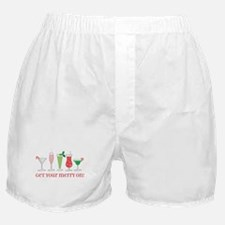 get your merry on. Boxer Shorts