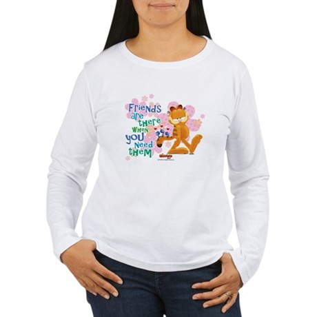 Friends Are There Women's Long Sleeve T-Shirt