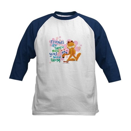 Friends Are There Kids Baseball Jersey