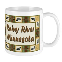 Rainy River Loon Mug