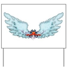 Your Very Own Angel Wings Yard Sign