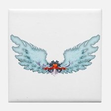 Your Very Own Angel Wings Tile Coaster