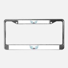 Your Very Own Angel Wings License Plate Frame