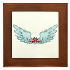 Your Very Own Angel Wings Framed Tile