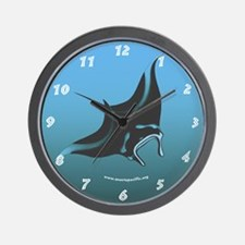 Manta Pacific Research Foundation Wall Clock