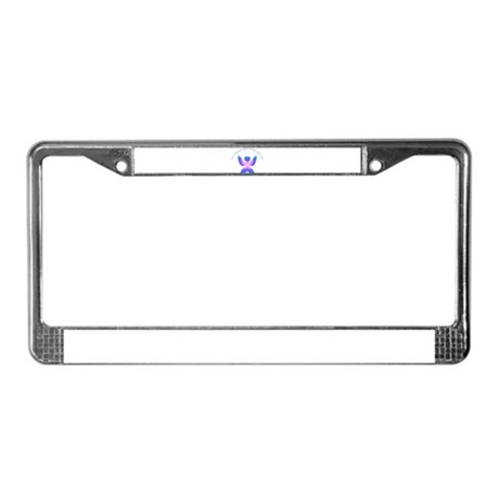 Your guardian Angel License Plate Frame