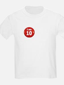 I am 10 Kids T-Shirt