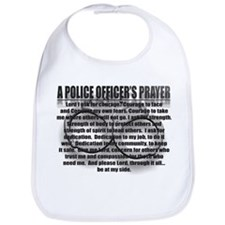 A POLICE OFFICER'S PRAYER Bib