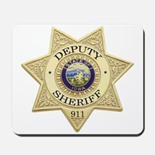 Iowa Deputy Sheriff Mousepad