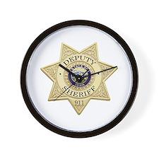 Iowa Deputy Sheriff Wall Clock