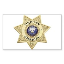 Louisiana Deputy Sheriff Rectangle Decal