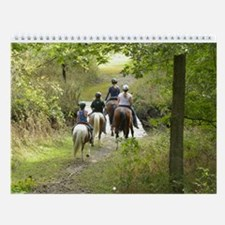 Cowboys, Cowgirls, and Trail Rides Wall Calendar