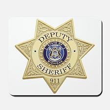 Michigan Deputy Sheriff Mousepad